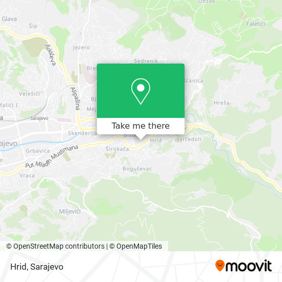 Hrid map