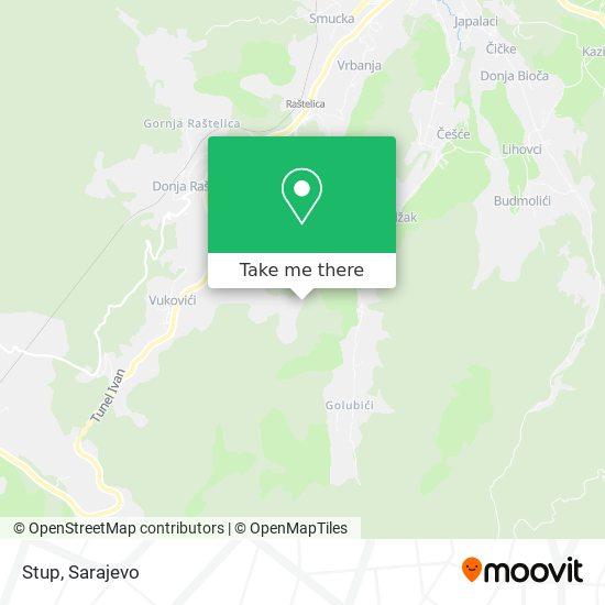Stup map
