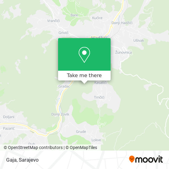 Gaja map