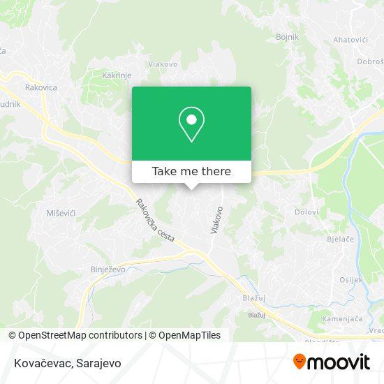 Kovačevac map