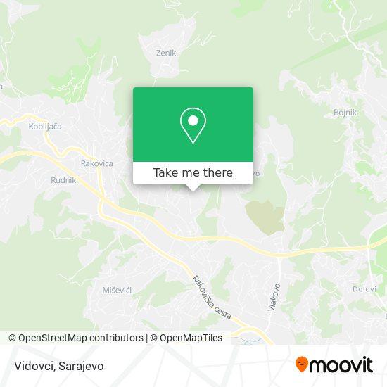 Vidovci map