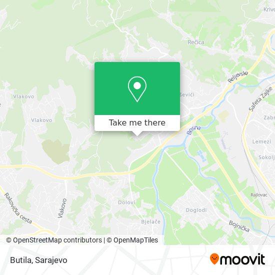 Butila map