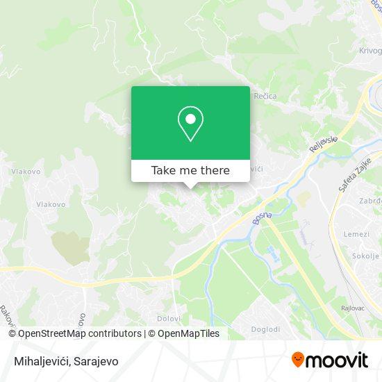 Mihaljevići map