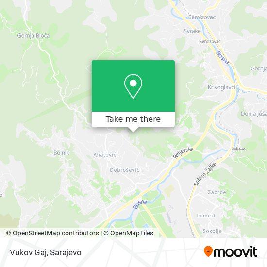 Vukov Gaj map