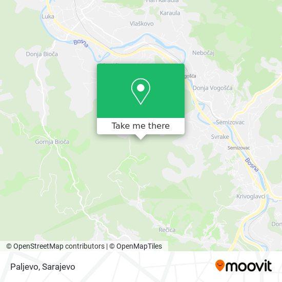 Paljevo map