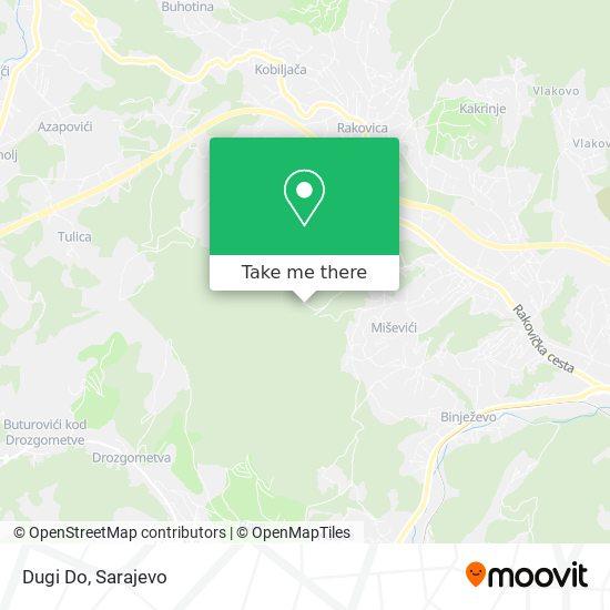 Dugi Do map