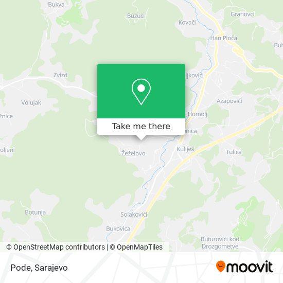 Pode map