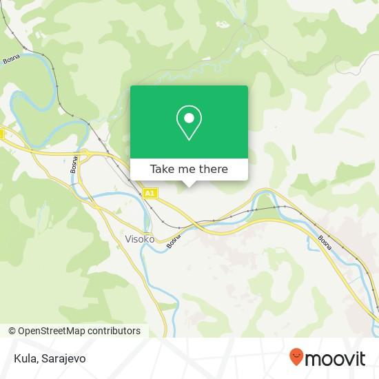 Kula map