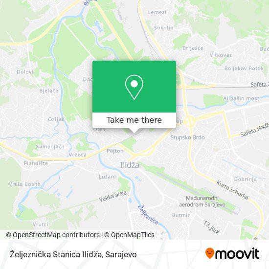 Željeznička Stanica Ilidža map
