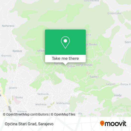 Općina Stari Grad map