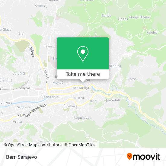 Berr map
