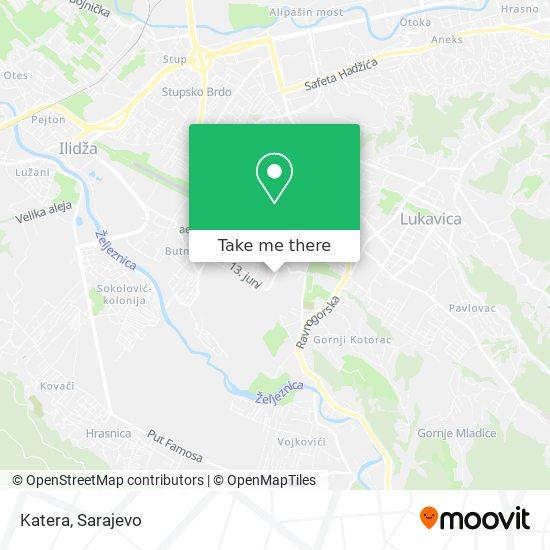 Katera map