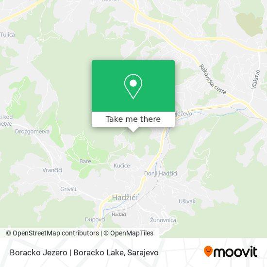 Boracko Jezero | Boracko Lake map