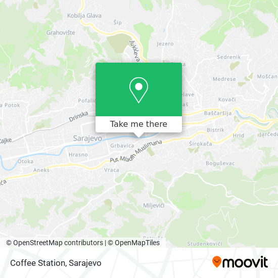Coffee Station map