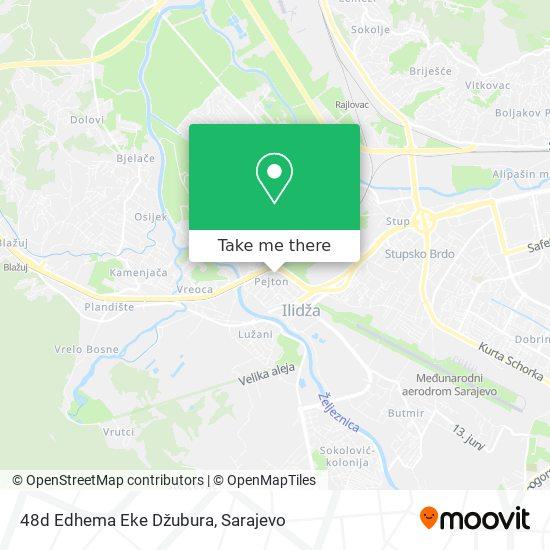 48d Edhema Eke Džubura map