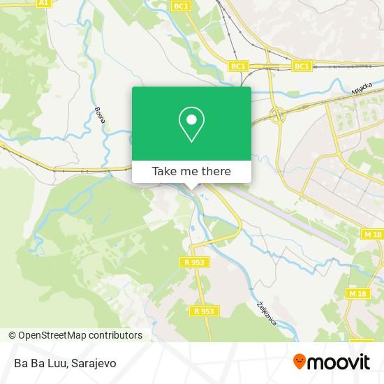 Ba Ba Luu map
