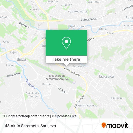 48 Akifa Šeremeta map