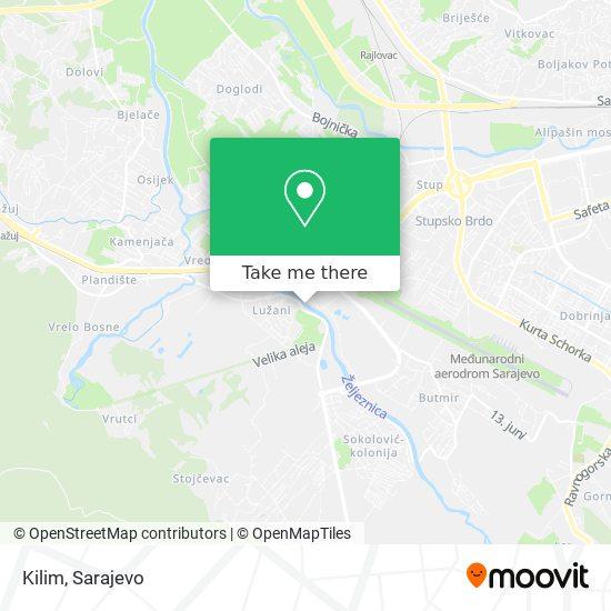 Kilim map
