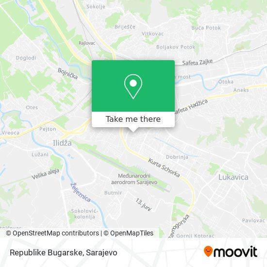 Republike Bugarske map