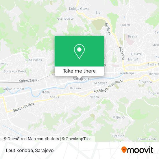 Leut konoba map