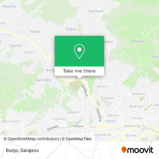 Bunjo map