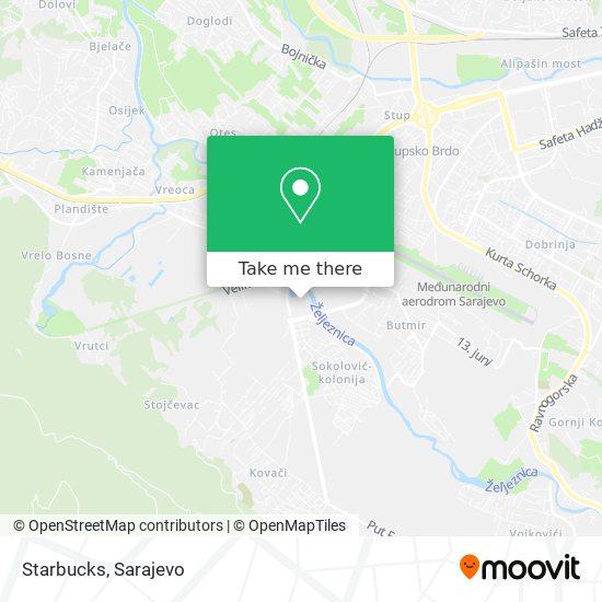 Starbucks map