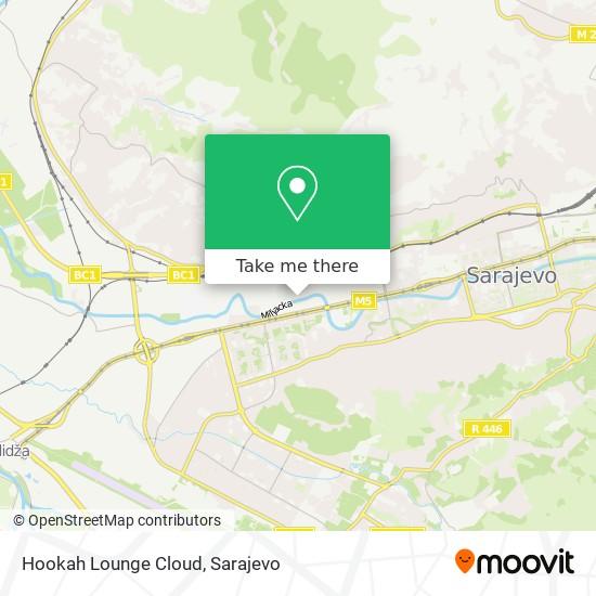 Hookah Lounge Cloud map