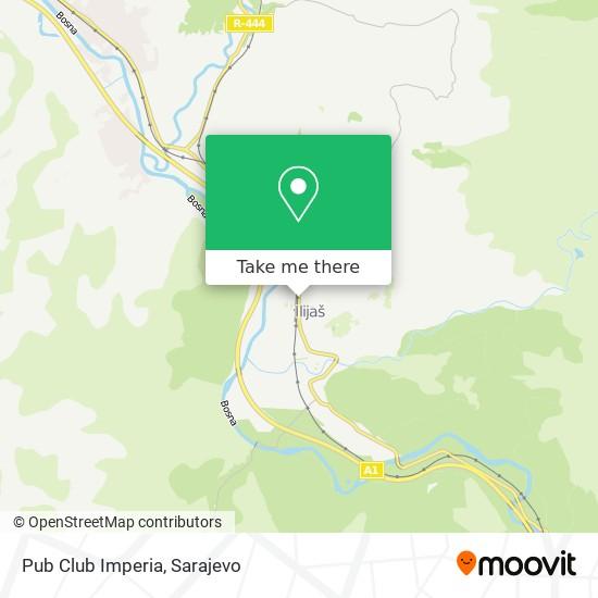 Pub Club Imperia map