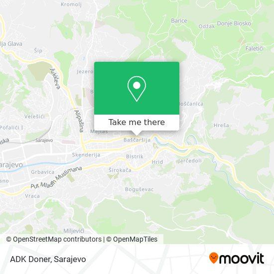 ADK Doner map