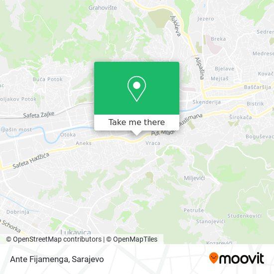 Ante Fijamenga map