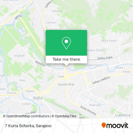 7 Kurta Schorka map