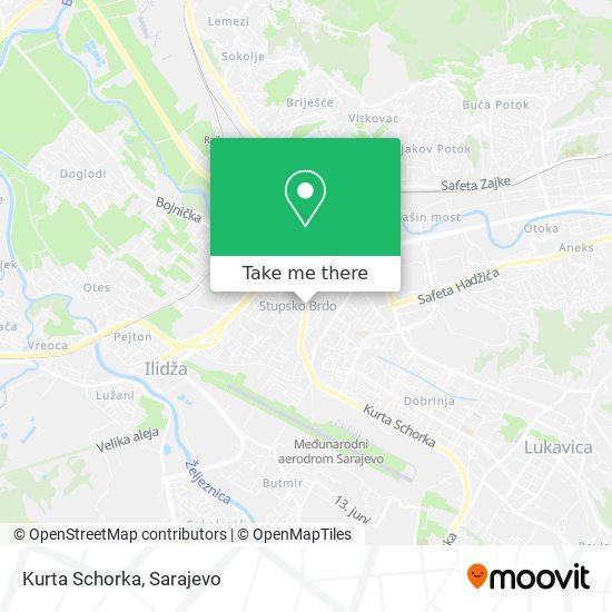 Kurta Schorka map