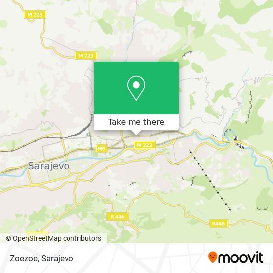 Zoezoe map