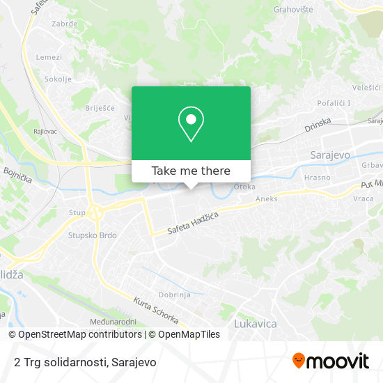 2 Trg solidarnosti map