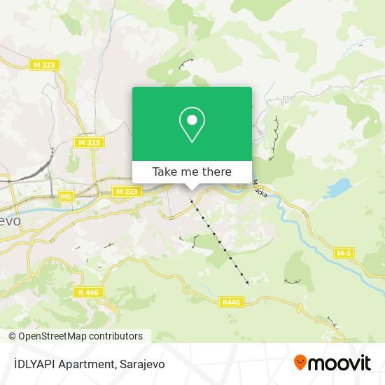 İDLYAPI Apartment map