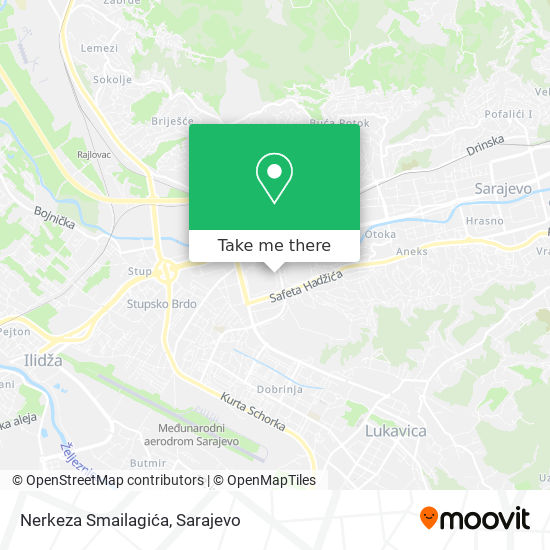 Nerkeza Smailagića map