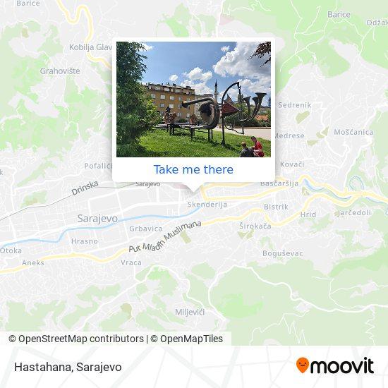 Hastahana map