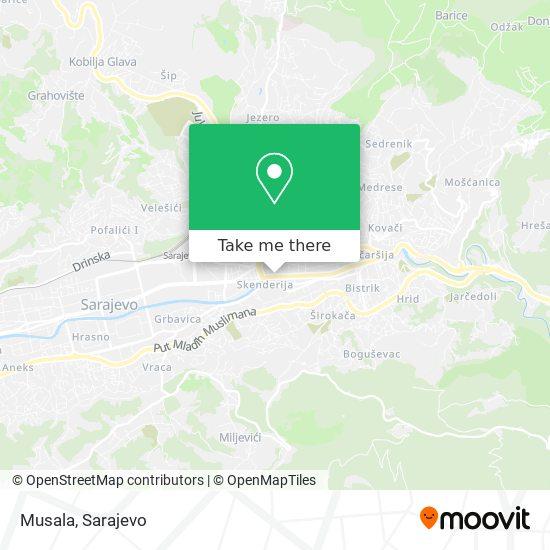 Musala map