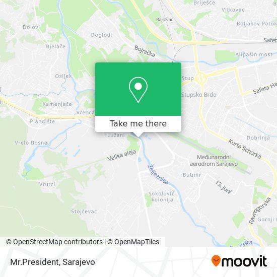 Mr.President map