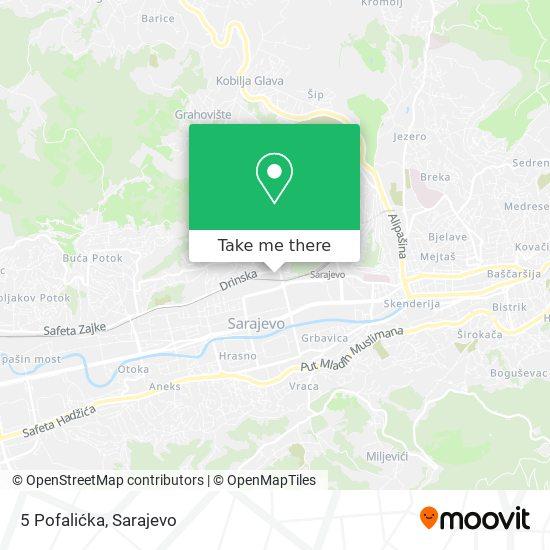 5 Pofalićka map