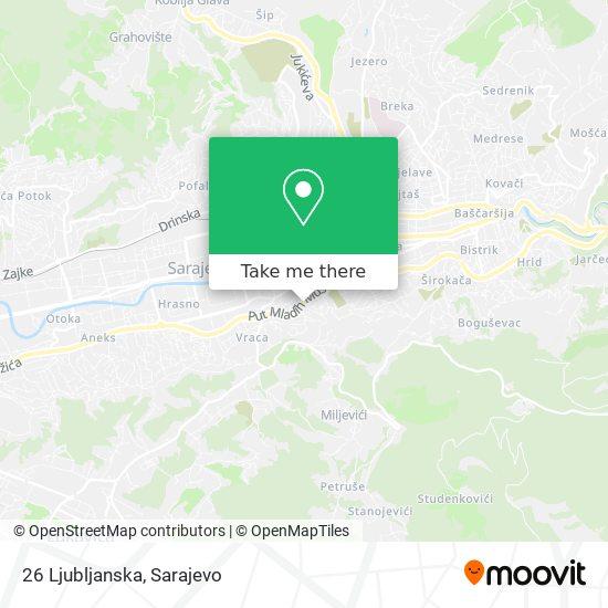 26 Ljubljanska map