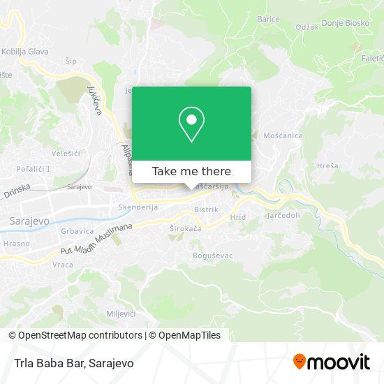 Trla Baba Bar map