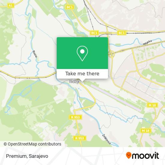 Premium map