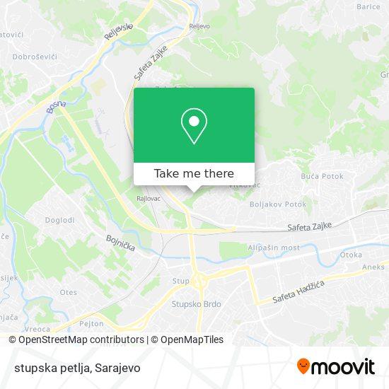 stupska petlja map