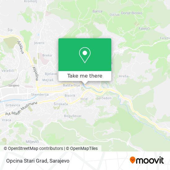Opcina Stari Grad map