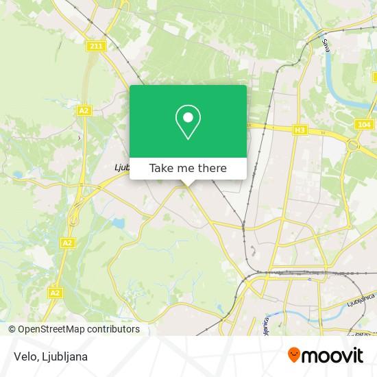 Velo map