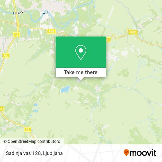 Sadinja vas 128 map