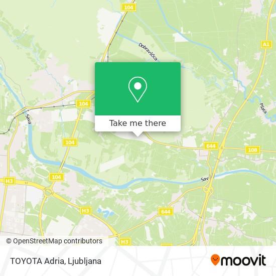TOYOTA Adria map