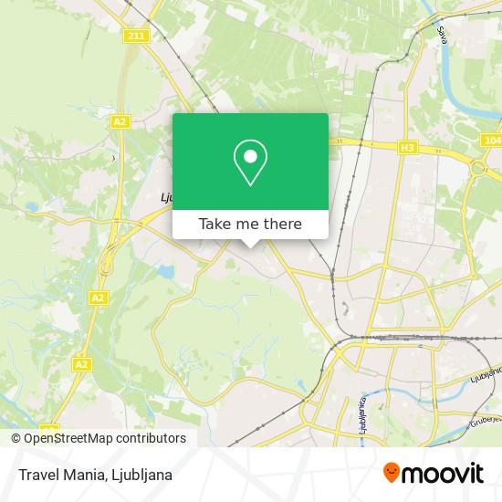 Travel Mania map