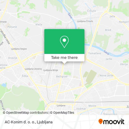 AC-Konim d. o. o. map